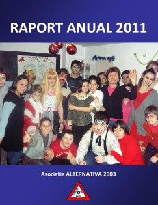 RAPORT ANUAL 2011 cover page