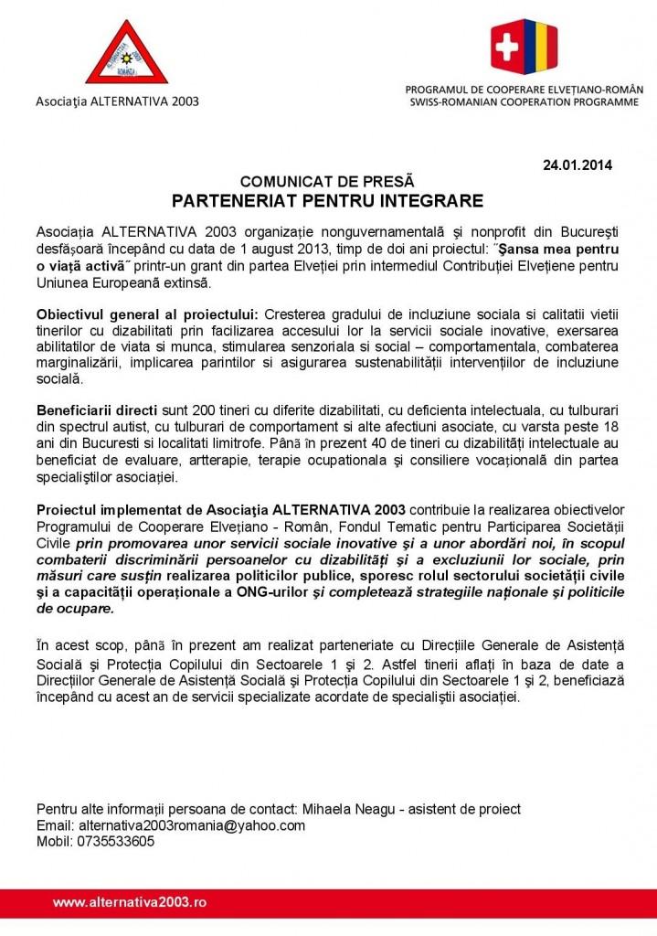Comunicat de presa parteneriate ALTERNATIVA 2003_DGAS_1_2