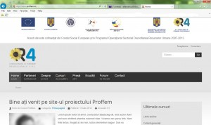 print screen site www.proffem.ro