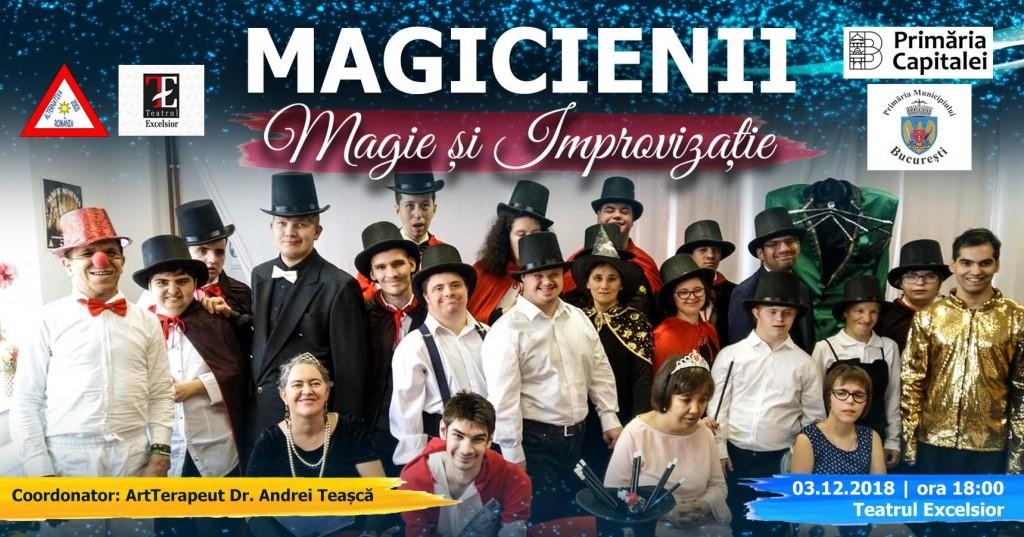 Afis spectacol Magicienii