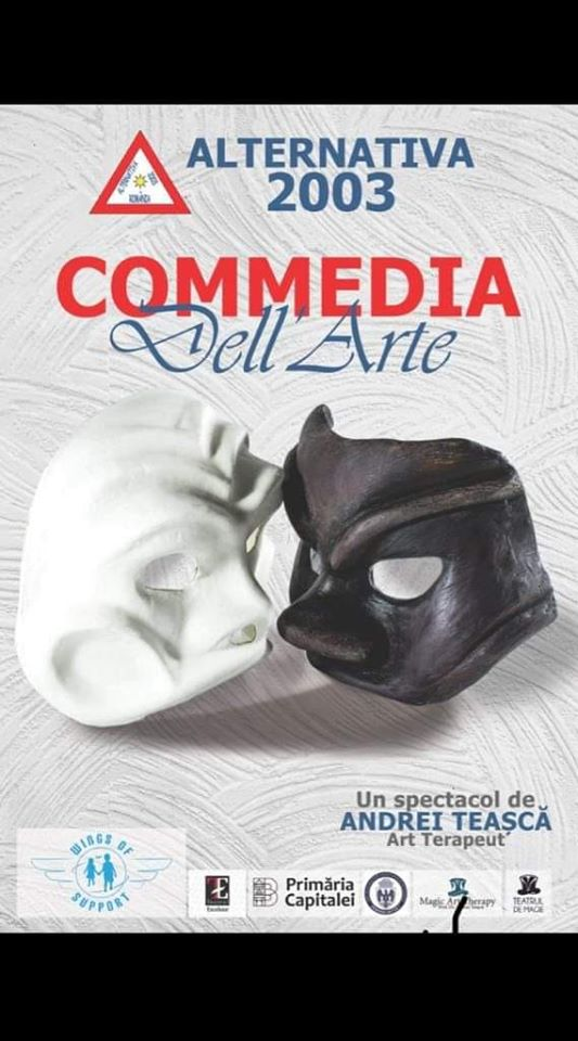 COMMEDIA DELL'ARTE afis